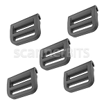 Plastic Buckle for RS6000 Strap, 5 PACK